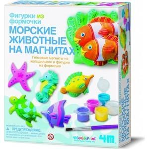 Творчество 4M Морские животныена магнитах (00-03511) магниты 4m морские животные