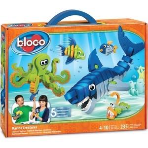 Конструктор Bloco Морские животные (30241) магниты 4m морские животные