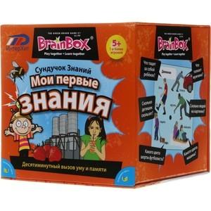 Настольная игра Brainbox Мои первые знания (90740) вундеркинд с пеленок обучающие карточки мои первые знания