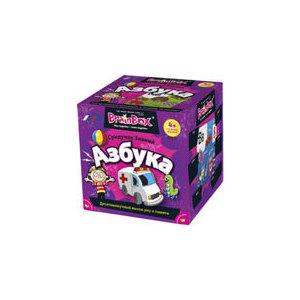 Настольная игра Brainbox Азбука (90720) brainbox brainbox игра сундучок знаний россия