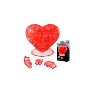 Пазл Crystal Puzzle Сердце красное (90012)