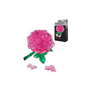 Пазл Crystal Puzzle Роза розовая (90213)