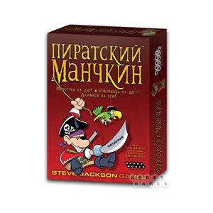 Настольная игра Hobby World Пиратский Манчкин (1090/1971)