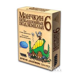 Настольная игра Hobby World Манчкин 6 Безбашенные Подземелья (1329/2007)