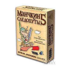 Настольная игра Hobby World Манчкин 5 Следопуты(1995/1328)