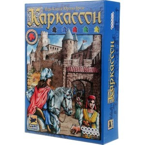 Настольная игра Hobby World Каркассон базовый (1111/4046/1942) hobby world игра каркассон королевский подарок