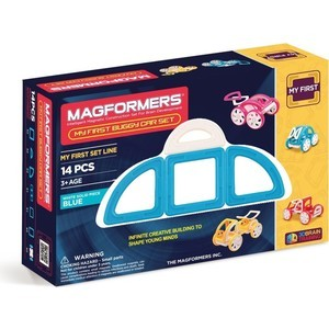 Конструктор Magformers My First Buggy, синий (63146)