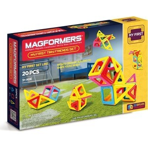 Конструктор Magformers Tiny Friends (63143) magformers tiny friends