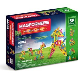 Конструктор Magformers Neon color set 60 (63110)
