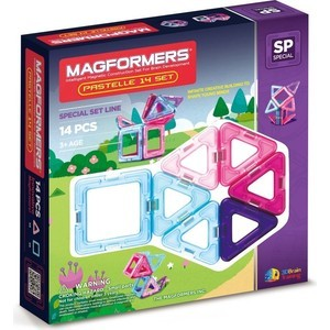 Конструктор Magformers 14 Pastelle (63096)