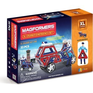 Конструктор Magformers cruisers службы спасения (63079)
