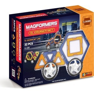 Конструктор Magformers Xl cruisers машины (63073)