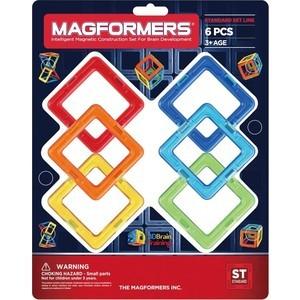 цены Конструктор Magformers Квадраты 6 (63086)