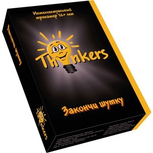 Настольная игра Thinkers Закончи шутку 16+ (1601)