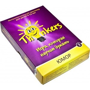 Настольная игра Thinkers 9-12 лет - Юмор (0903)