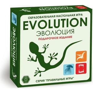 Настольная игра Правильные игры Эволюция Подарочный выпуска игры +18 новых карт (13-01-04)