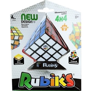 Головоломка Рубикс Кубик рубика 4х4 без наклеек (КР5012) кубик рубика 4х4