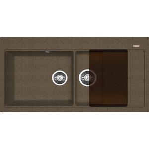 Мойка кухонная Florentina Россана коричневый FG (20.335.Е1000.105) мойка florentina эльба бежевый
