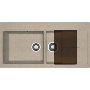 Мойка кухонная Florentina Россана песочный FG (20.335.Е1000.107) 3 обнаженный песочный