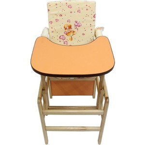 Стул для кормления Babyroom Матрешка, оранжевый (21637)