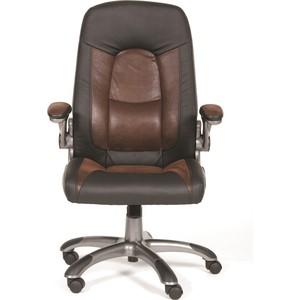 Офисное кресло Chairman 439 экопремиум черный+микрофибра черный/коричневый chairman 651 черный черный mebelvia