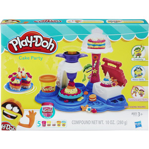 'Игровой набор Hasbro PlayDoh Сладкая вечеринка (B3399) оружие игрушечное hasbro hasbro бластер nerf n strike mega rotofury