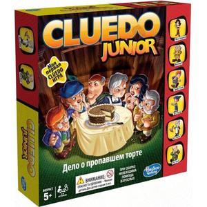 Игрушка Hasbro Games игра Моя первая Games игра Клуэдо (B0335) hasbro hasbro games игра мое первое клуэдо