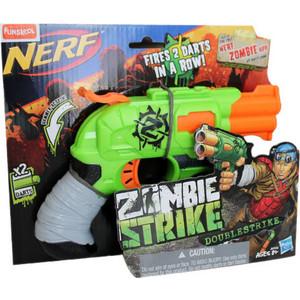 Игрушка Hasbro NERF Зомби Страйк Двойная Атака (A6562) hasbro бластер зомби страйк двойная атака nerf