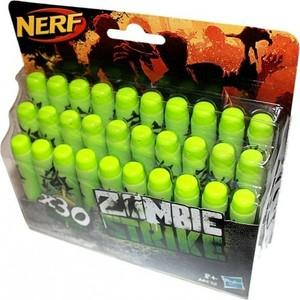 Зомби Hasbro NERF Страйк 30 стрел (A4570) игрушечное оружие nerf hasbro зомби страйк 30 стрел