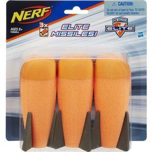 Игрушка Hasbro NERF 3 Ракеты (A8951) nerf игрушка для собак nerf кольца резиновые с нейлоновой перемычкой 32 5 см