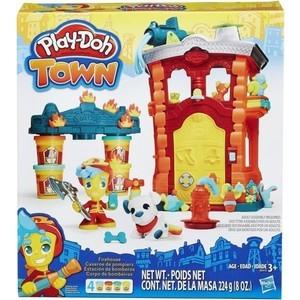 Игровой набор Hasbro Город Пожарная станция (B3415) оружие игрушечное hasbro hasbro бластер nerf n strike mega rotofury