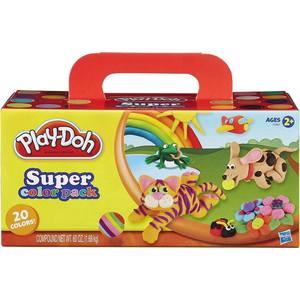 Игровой набор Hasbro Play-Doh из 20 баночек (A7924) оружие игрушечное hasbro hasbro бластер nerf n strike mega rotofury