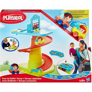 Игровой набор Hasbro Playskool Веселый Гараж возьми с собой (B1649) развивающая игрушка hasbro playskool возьми с собой веселый щенок
