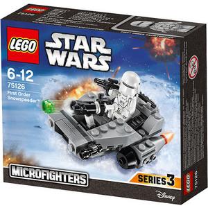 Игрушка Lego Снежный спидер Первого Ордена (75126) lego классика