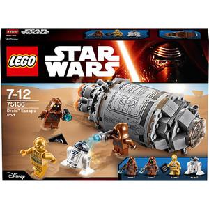 Игрушка Lego Спасательная капсула дроидов (75136)