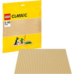 Конструктор Lego Строительная пластина желтого цвета (10699)