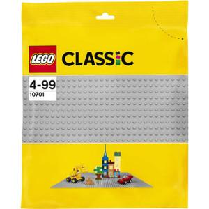 Конструктор Lego Строительная пластина серого цвета (10701)