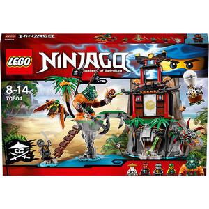 Конструктор Lego Остров тигриных вдов (70604) конструктор lego остров сокровищ 10604