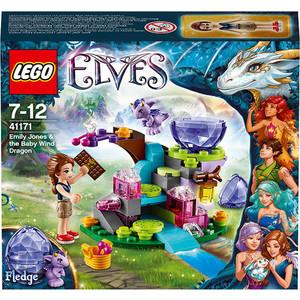 Игрушка Lego Эмили Джонс и дракончик ветра (41171)