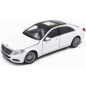 Машинка Welly 1:24 Mercedes Benz SClass (24051) mercedes а 160 с пробегом