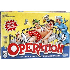 Игрушка Hasbro Games игра операция (обновленная) (B2176) настольные игры hasbro операция холодное сердце