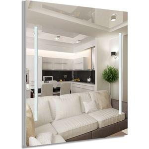 Зеркало Dubiel Vitrum с внутренней подсветкой, 80x60 (УТ000000966) зеркало для ванной с подсветкой dubiel vitrum arti