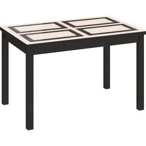Стол Бештау Диез Т11 С-343 Венге/Стекло с рисунком стол бештау диез т11 с 347 венге дуб сильвер