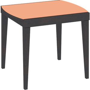 Стол Бештау Танго Т1 С-361 Венге/Стекло глянцевое оранжевое раздвижной большой стеклянный обеденный стол кубика нагано 2 стекло стекло темно коричневое венге