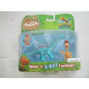 Игровой набор Tomy Dinosaur Train Арни и X Ray Гилберт (Т57096) tomy bath друзья дельфины e6528