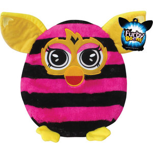 Подушка в полоску 1Toy Furby Т57472 furby рюкзак 35 см в полоску 1toy