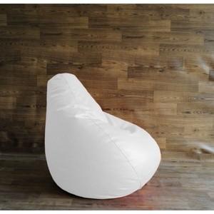 Кресло-мешок Груша POOFF искусственная кожа - белый