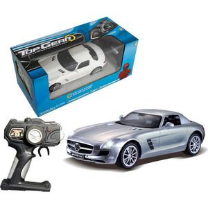 Машинка 1Toy Top Gear Mercedes Benz SLS 1:14 Т56691 1toy mercedes benz m350 1 24 top gear с зарядным устройством
