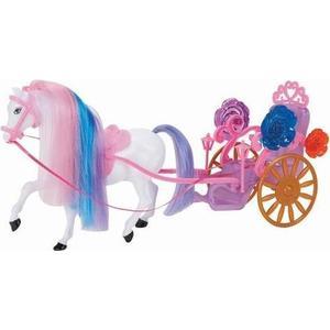 Карета для кукол 1Toy с лошадью Т53235 1toy 1toy карета с лошадью для кукол 1 местн т53235