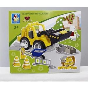 Конструктор 1Toy Big Brick строители Т53536